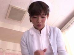 【紗倉まな】エロ過ぎるナースが患者の精子採取ww