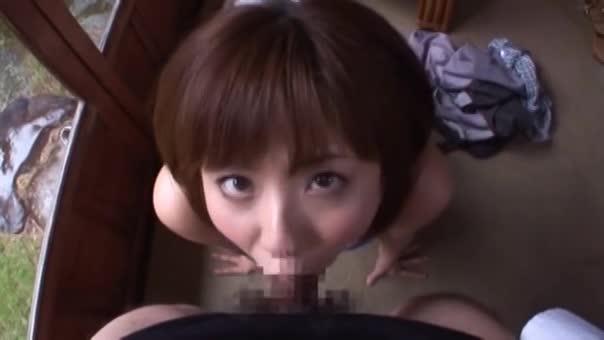 【濃厚フェラ】エロいカラダの麻美ゆまが濃厚フェラ【ノーハンド】