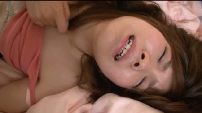 【JKギャルの動画】ロリ可愛い顔してヤルことヤッてる茶髪な円光JKが主観SEXエッチで中出し