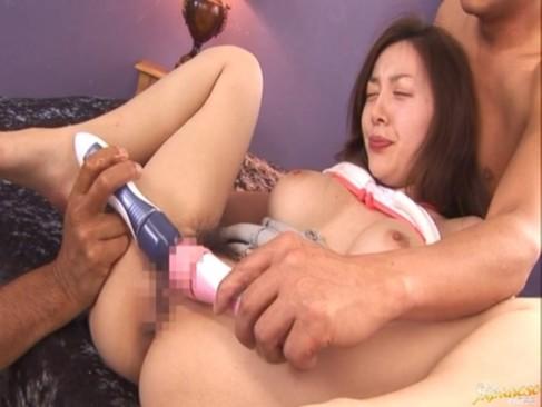 S級巨乳美人お姉さんが濃厚3Pで甘い吐息をもらしながら感じまくるセックス