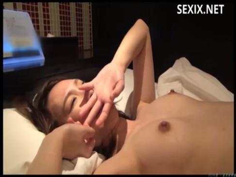 和風美人の巨乳人妻と生々しすぎる不倫SEXハメ撮り