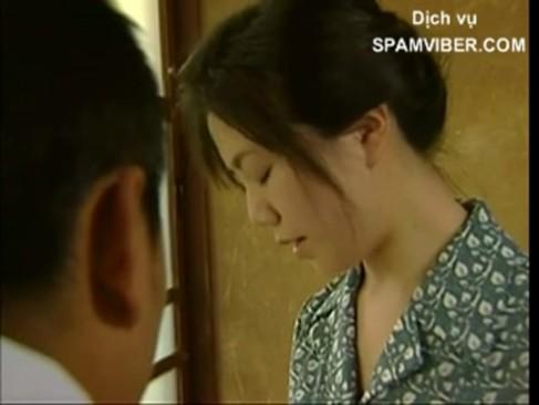 昭和美人な女性とお爺ちゃんが和室でハメてるぞwww