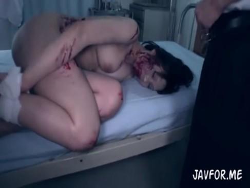 舞咲みくに:美巨乳メイドさんゾンビを捕まえて強姦強姦☆ その3