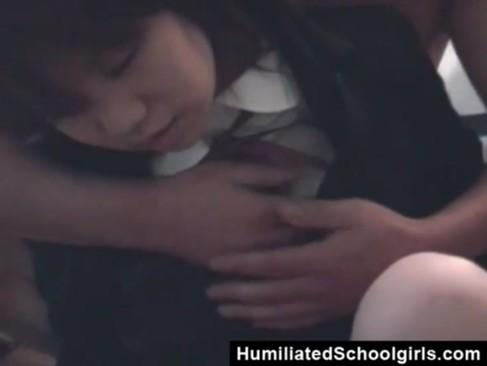 素人女子校生にガチの催眠術かけて汚れのない体を無慈悲に犯す鬼畜男
