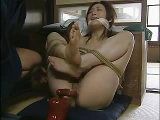 変態の師匠に麻縄で縛られてガチレイプされる巨乳人妻