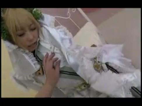 コスプレ娘有村千佳ちゃんにザーメンぶっかけるハメ撮りファック!