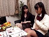 【女子校生】姉に紹介されたエロマッサージ店で安心してたらハメられちゃった制服JK