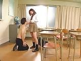 クラスメイトのドSな女子に性教育を受けるキモオタ