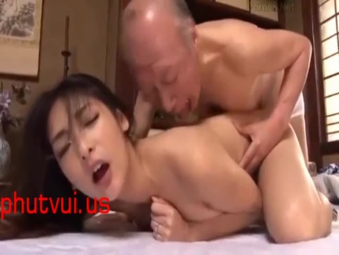 「ダメですってばッ!」性欲旺盛義父に襲われレイプされてしまった巨乳人妻