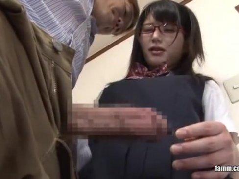 【巨乳】清楚で真面目なJKを言いなりにしてハメる鬼畜家庭教師
