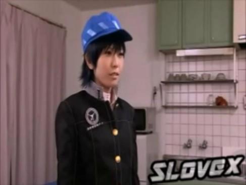 【hアニメ ボーイッシュ ロり】ボーイッシュなショートカットロリ美女が初エッチで顔射されて放心状態・・