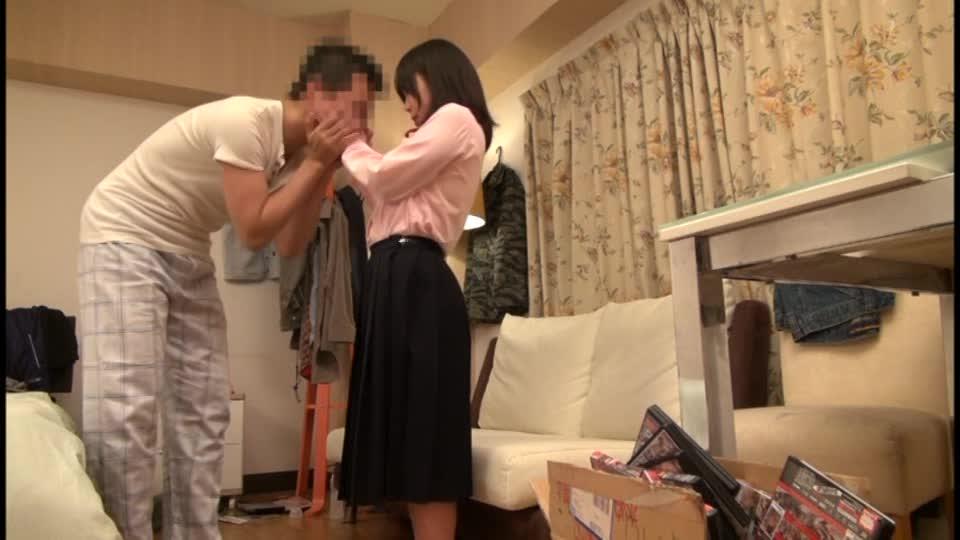 ロリカワイイ制服姿の女子校生と個室で淫らなイチャラブ生ハボ