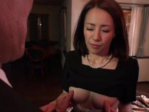 【谷原希美】借金返済の為に金貸しに肉奴隷にされセックスの虜になる四十路熟女