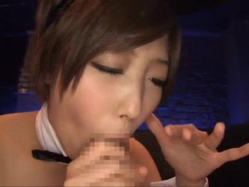 エロすぎボディのバニーガールと濃厚ガチハメ!美しいモデル体型美少女に顔射!