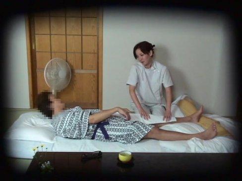 【巨乳】カメラ仕込んで盗撮開始!旅館で呼んだ美女マッサ師ハメ倒す100分!