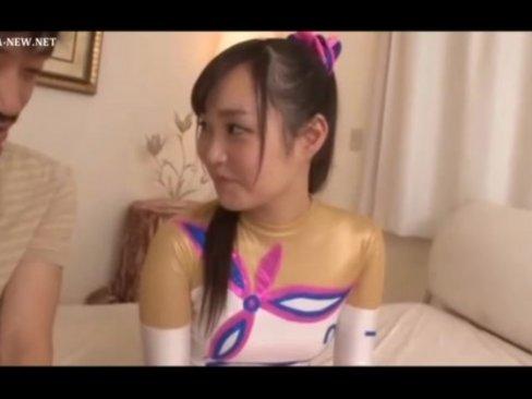 【美少女】ほとんど処女に近い新身体操のレオタードロリ美女の恥じらいSEX