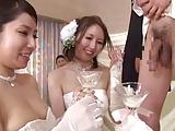 【結婚式 乱交 動画】合同結婚式でまさかのスワッピングフェラチオ始めて乱交開始w