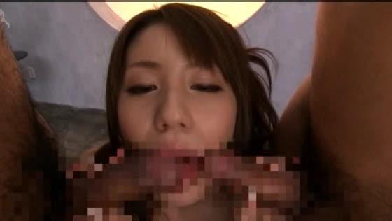 元アスリート美少女の3Pセックス