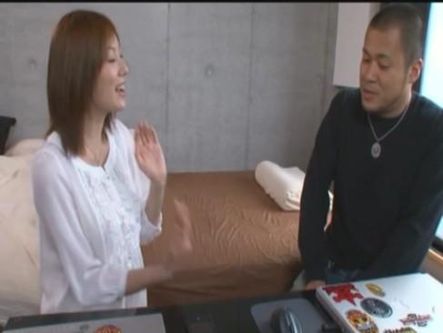 【巨乳】プルプル女神麻美ゆまが素人男性宅に訪問セックス!