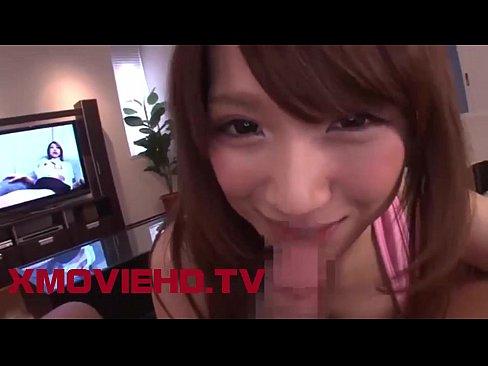 【美少女 フェラ】ホットパンツの美少女ギャルのフェラ淫語プレイ動画!【エロまとめ動画モンモン】