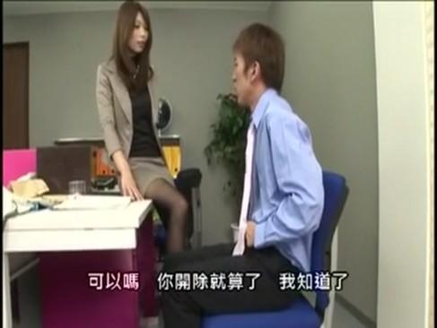 仕事で失敗した社員を社長秘書 妃乃ひかりが特命でおチンポしゃぶりモチベーションUP