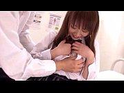 激カワ巨乳JKが保健室で同級生とイチャラブSEX!