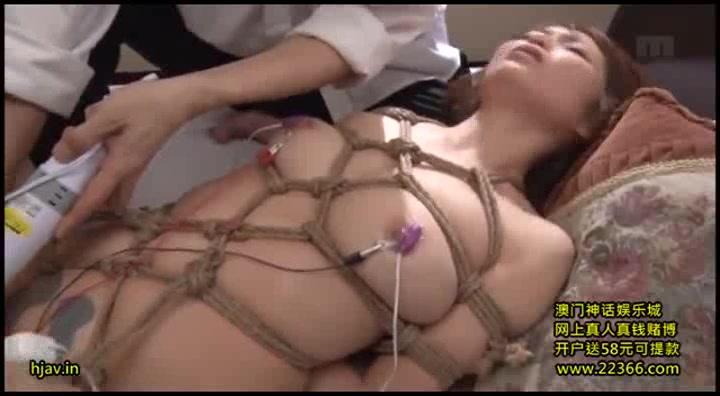 【乃々果花】浮気した妻が縛られて巨根に調教される美女