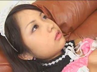 【五十嵐こころ】超可愛い美少女がダッチワイフになったらどうしますか?メイド服着せてパイパンにして毎日ハメますwwwwww