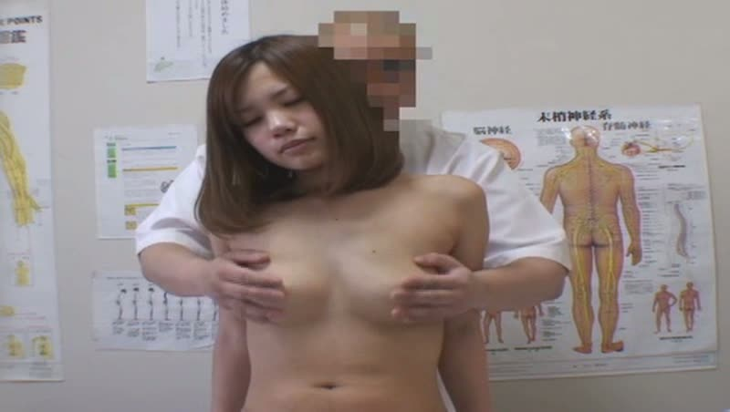 歌舞伎町整体治療院のエロマッサージ師に犯されに来た巨乳素人娘を隠し撮り