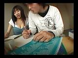 家庭教師の巨乳JDが同定生徒を逆レイプしてザーメン搾取ww