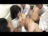 ぽっちゃり巨乳娘が医者たちに輪姦される荒療治の鬼畜病院