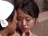 混浴温泉で新妻に巨根センズリ見せつけNTRハメ開始w
