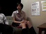 【フェラエロ動画】JKのフェラエロ動画無料。裏ピンサロに勤務する痴女JKのフェラテクが絶品すぎる件