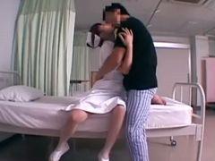 激カワ美少女ナースと病室でハメ撮りしちゃいましたw