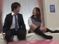 真面目なお姉さんが妹のセックスに発情→3P開始!