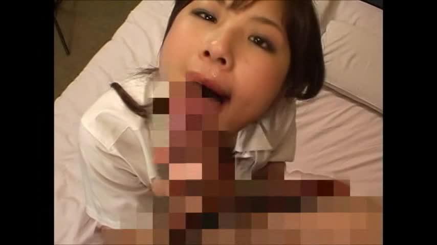 ドスケベな女子校生と制服着衣のままハメ撮りセックス!