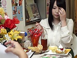 媚薬オイルを塗られ発汗マッサージダイエットに挑戦するむっちり巨乳女子大生w