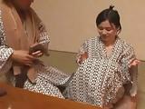 神乳おっぱい娘を旅館で言いなり状態にして快楽オイル責め調教!
