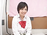 パイパン美少女JKのに大人チンポ挿入して大量ぶっかけ!