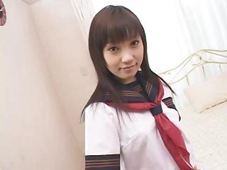 大塚ひな|制服姿のS級アイドル痴女美少女のおねだり淫語着衣セックス