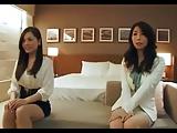 二人の美人妻たちとホテルでハーレム3Pを満喫!
