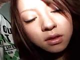 北川景子似美少女が自宅マンション前で顔射レイプくらう!