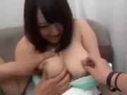 【看護婦】巨乳ナースをナンパ→初めて会った男とカーセックス