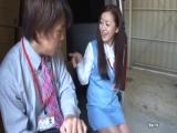 小野麻里亚/椎名由奈-毫无防备的美腿美尻美女