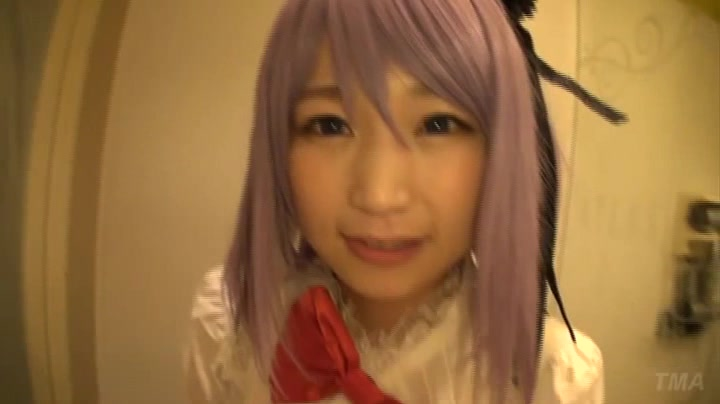 【コスプレエロ動画】巨乳コスプレイヤーとイチャラブハメ撮り!