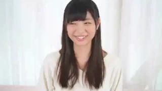 笑顔がキュートな清楚美女を激ハメ→特濃ザーメン大量顔射!