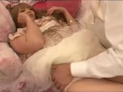 姫だかギャルだかよくわからない女の子に思いっきり膣内射精!お花畑女子は簡単だねーw