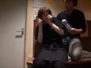 【素人】SODが発掘した北海道の奇跡の居酒屋店員の店内SEX映像