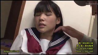【レイプ】本気で怯える女子校生を強姦レイプ…イラマチオがハードすぎてドン引きレベルの喉奥陵辱行為!