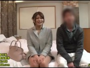 お金に釣られてカメラの前で膣内射精ハメしちゃった素人カップル